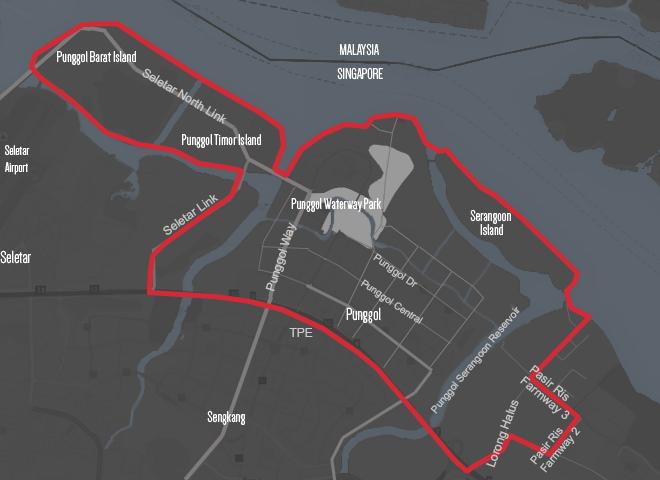 Punggol Area Map